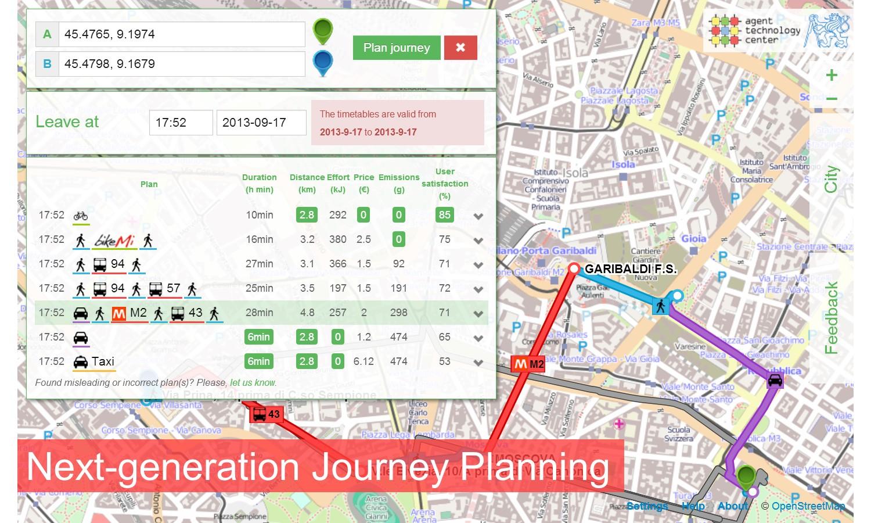 Next Generation Journey Planning