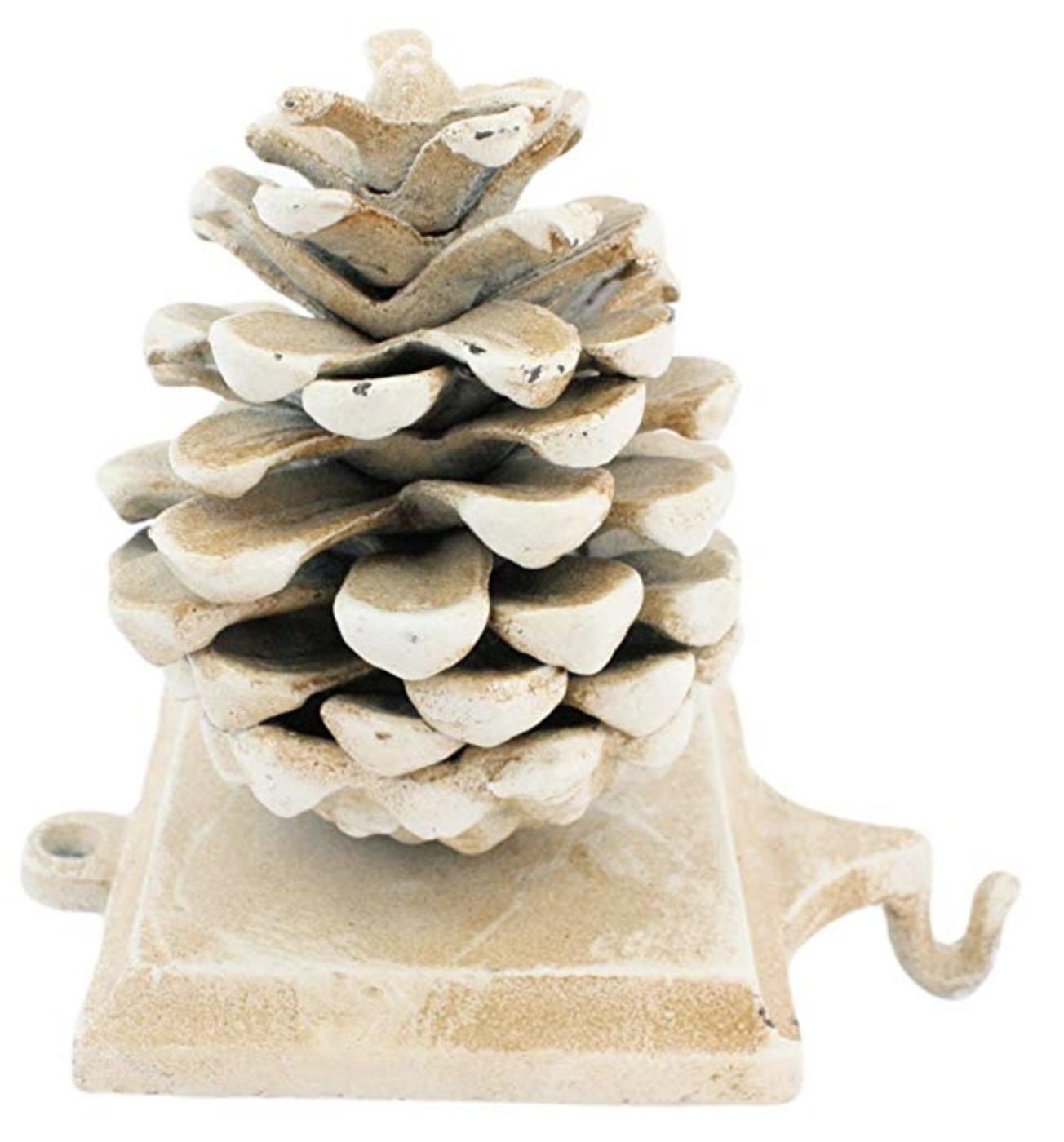 Stocking Holder Pinecone - Cast Iron