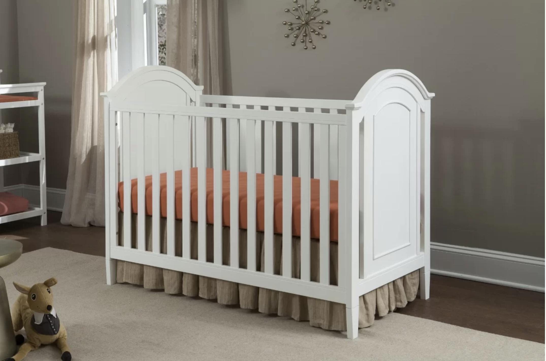 Harper Cottage - Detailed Panel Crib