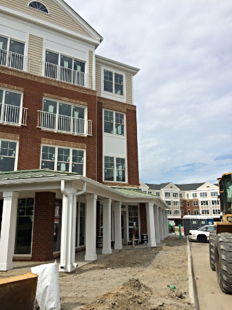 May 28, 2015   The Clubhouse on the ground floor is coming along.