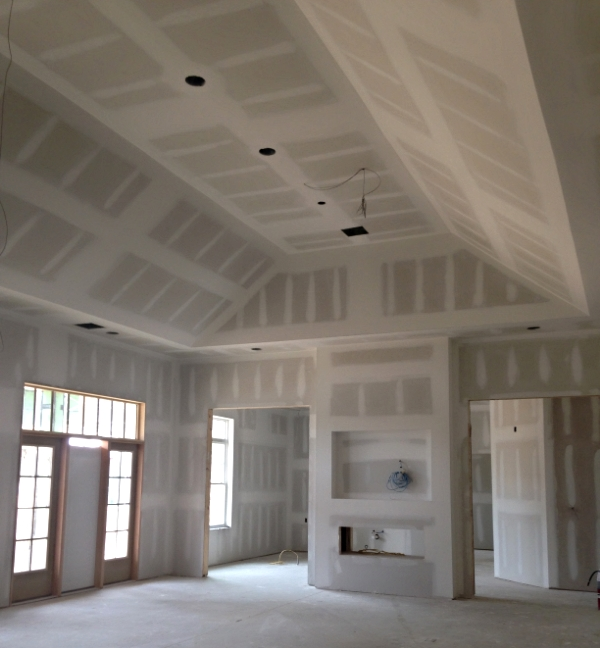 June 22, 2016   The clubhouse vaulted ceilings.