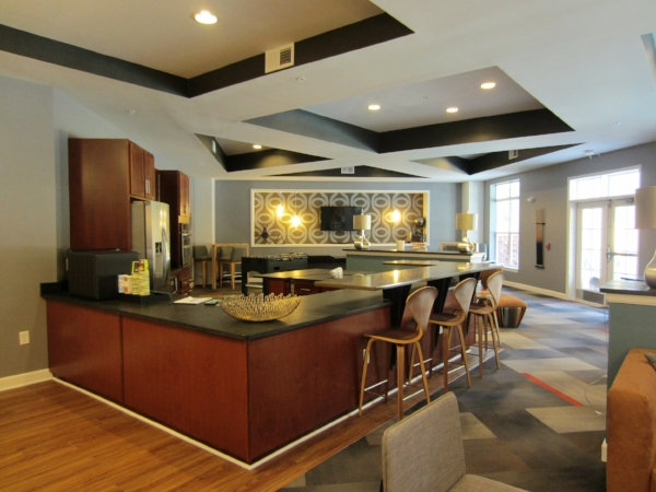 October 11, 2016  - The Clubhouse kitchen and bar!
