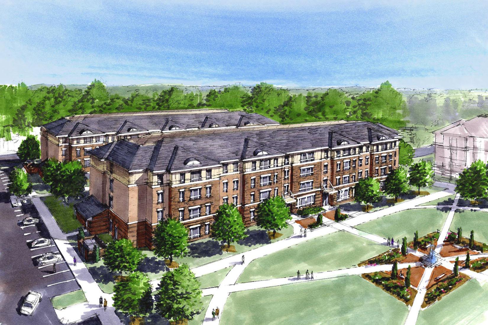 Richard Bland Student Housing