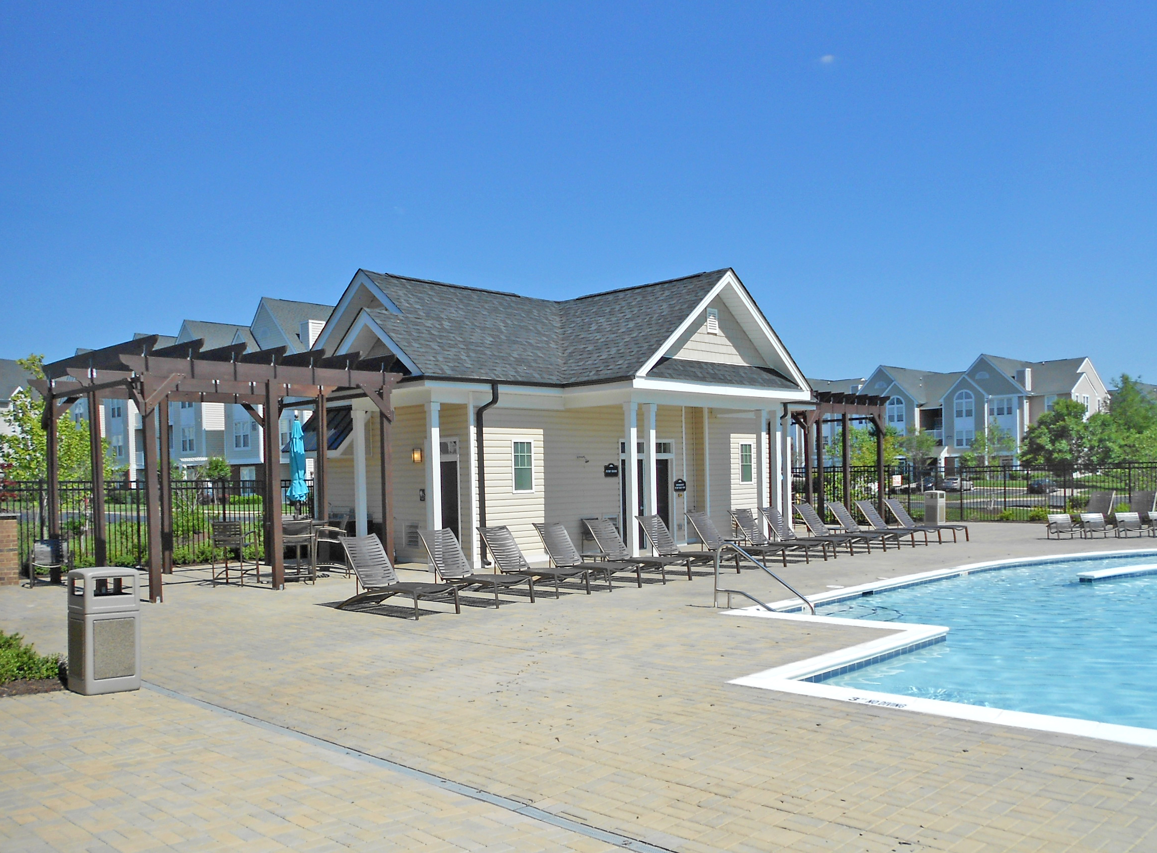 Abberly Crest III Pool House