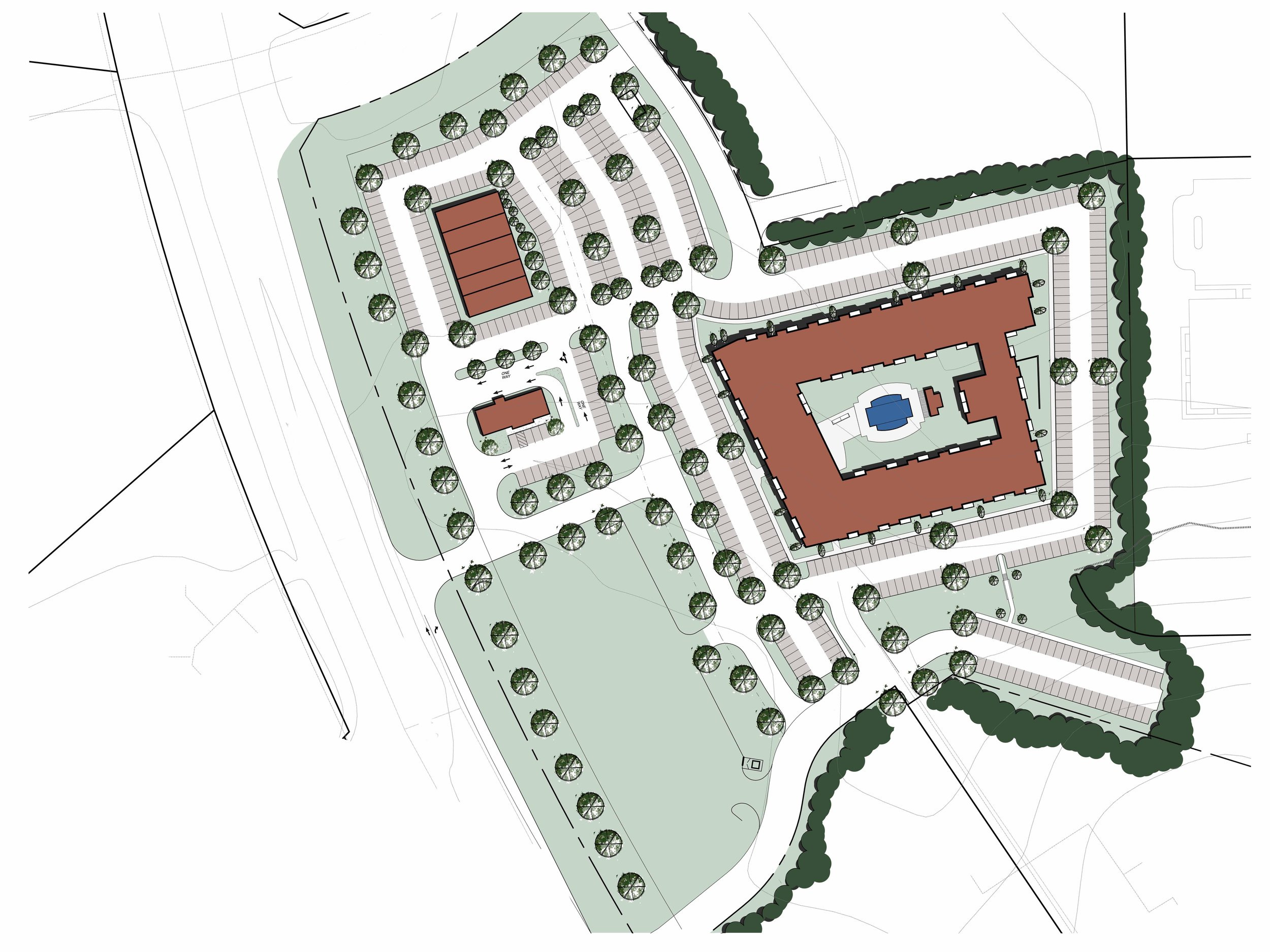 Multifamily Housing -  Proposed 200 unit development in Chesterfield County