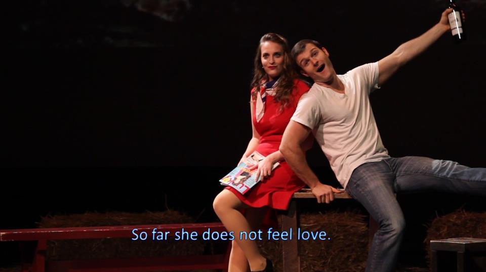 Amor non sensa -- she does not feel love yet