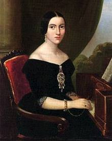 Strepponi as a singer ca 1840