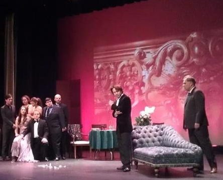 Dress rehearsal, Kimball Theatre