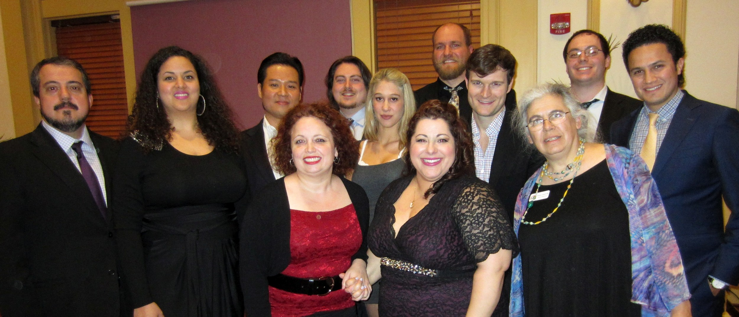Karlene Jennings with our artists WAAC OIW dinner concert Cenerentola.jpg