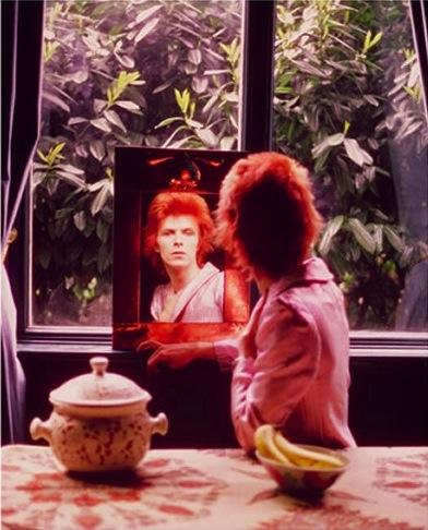 David Bowie. Photo by Mick Rock.