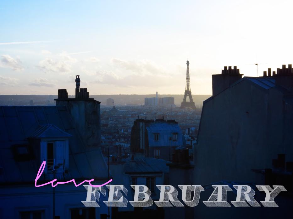 morning view. paris.