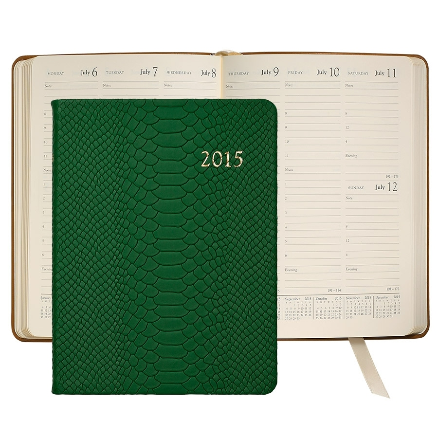 "Graphic Image 2015 Desk Diary  (they also have a ""pocket"" version)"