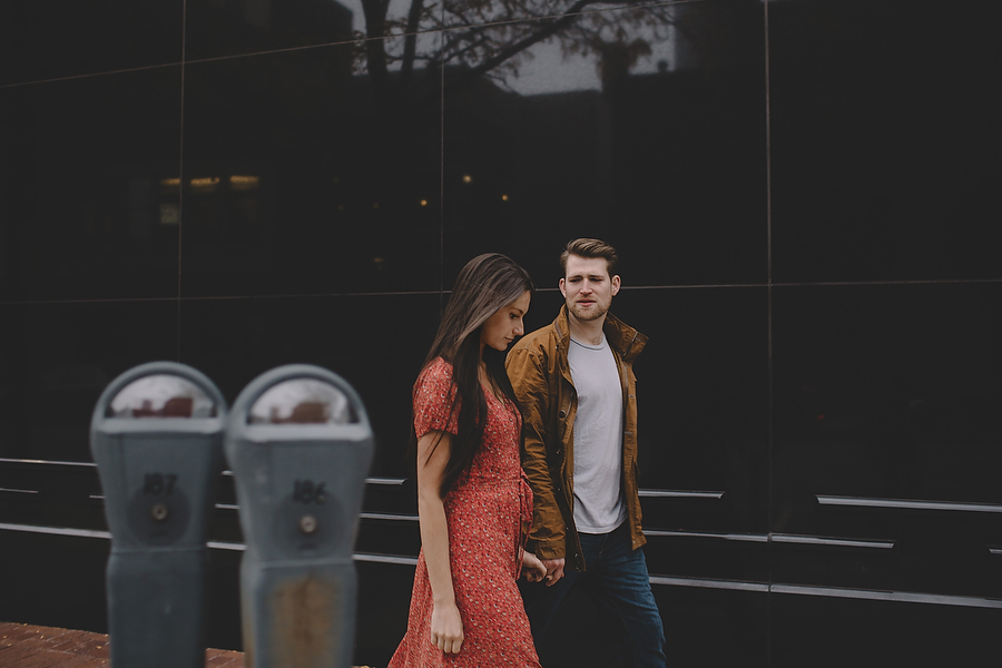 Downtown Fort Wayne, IN Engagement Photography
