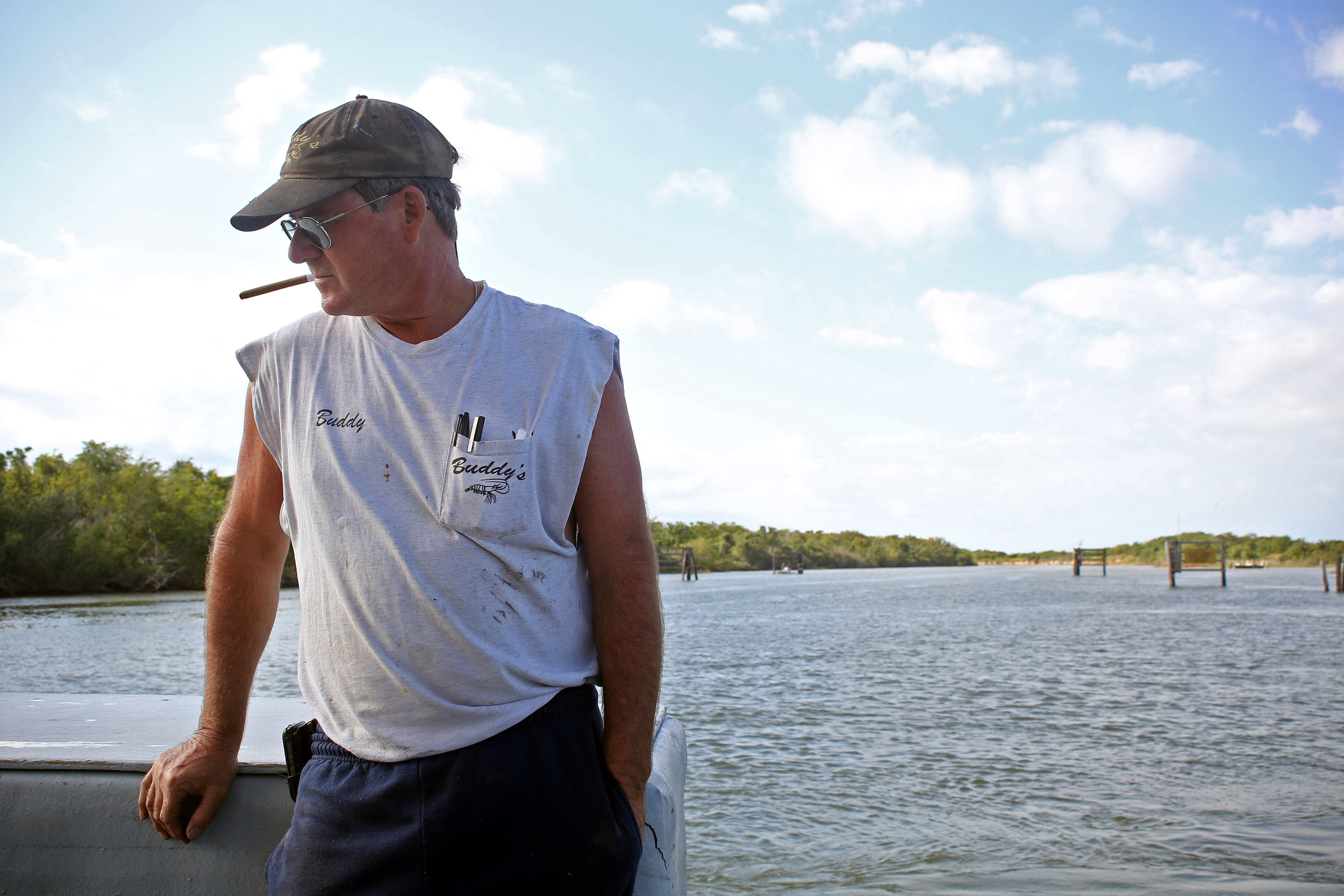 Buddy Treybig, a longtime shrimper on Matagorda Bay, said fishing there has never been harder. Prolonged drought and demand for water upstream in the Austin area have meant less fresh water flowing into the bay, which is essential to the marine life that provides incomes for coastal residents.