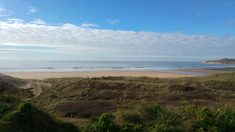 Woolacombe beach from Marine Drive.