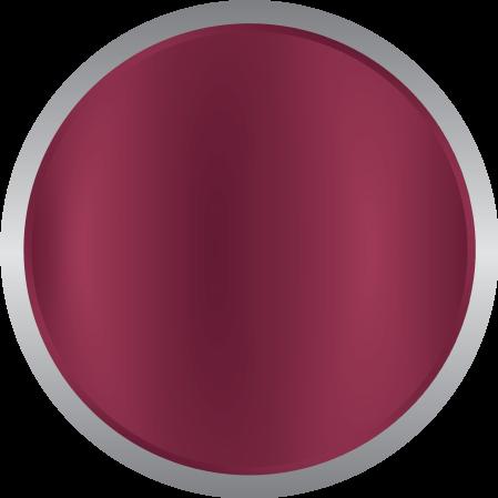 High gloss burgundy