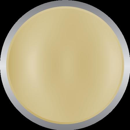 Metallic matte gold