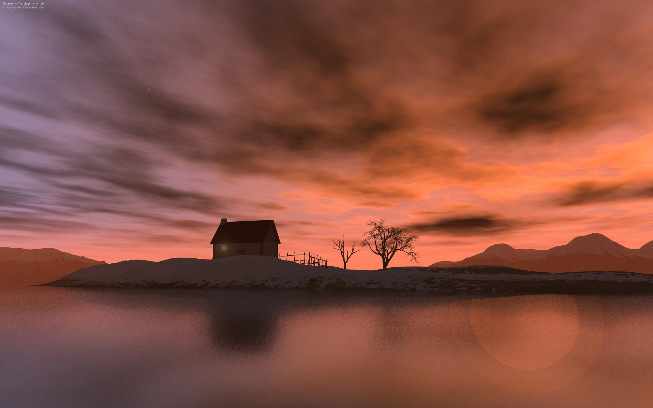 Loch (Sunset)