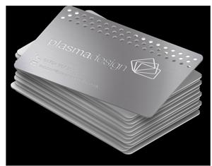 Metal card icon
