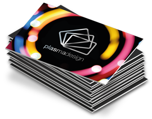 Icon depicting a stack of matt laminated paper cards with a silver foil applied to the surface