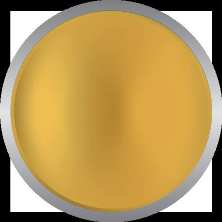 Metallic bright gold