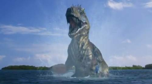 Poseidon Rex: The derpiest of CGI dinosaurs.