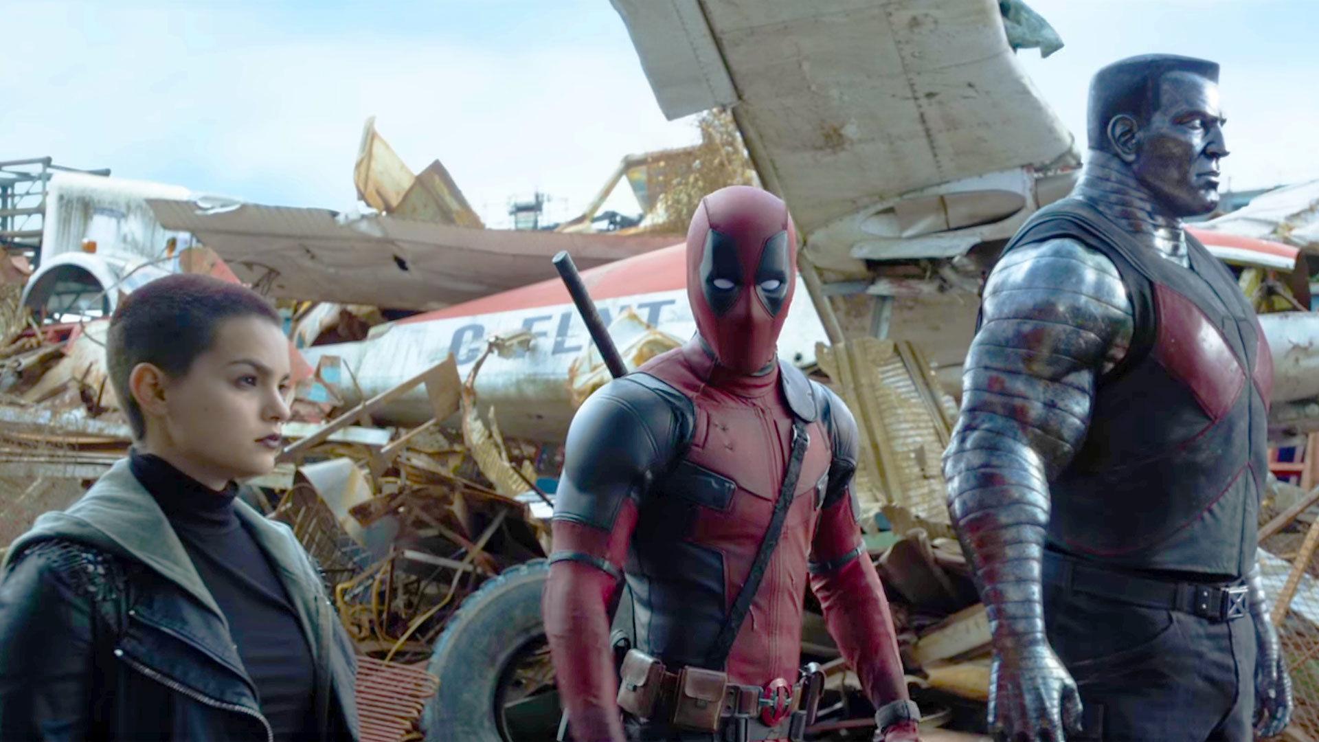 Negasonic Teenage Warhead, Deadpool and Colossus - Source: Entertainment Weekly/FOX
