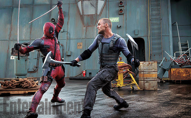 Deadpool fighting Ajax - Source: Entertainment Weekly/FOX