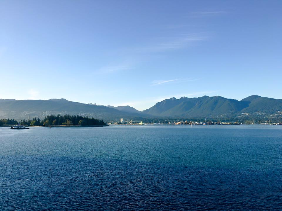 A capture of Vancouver's incredible harbour by Allison