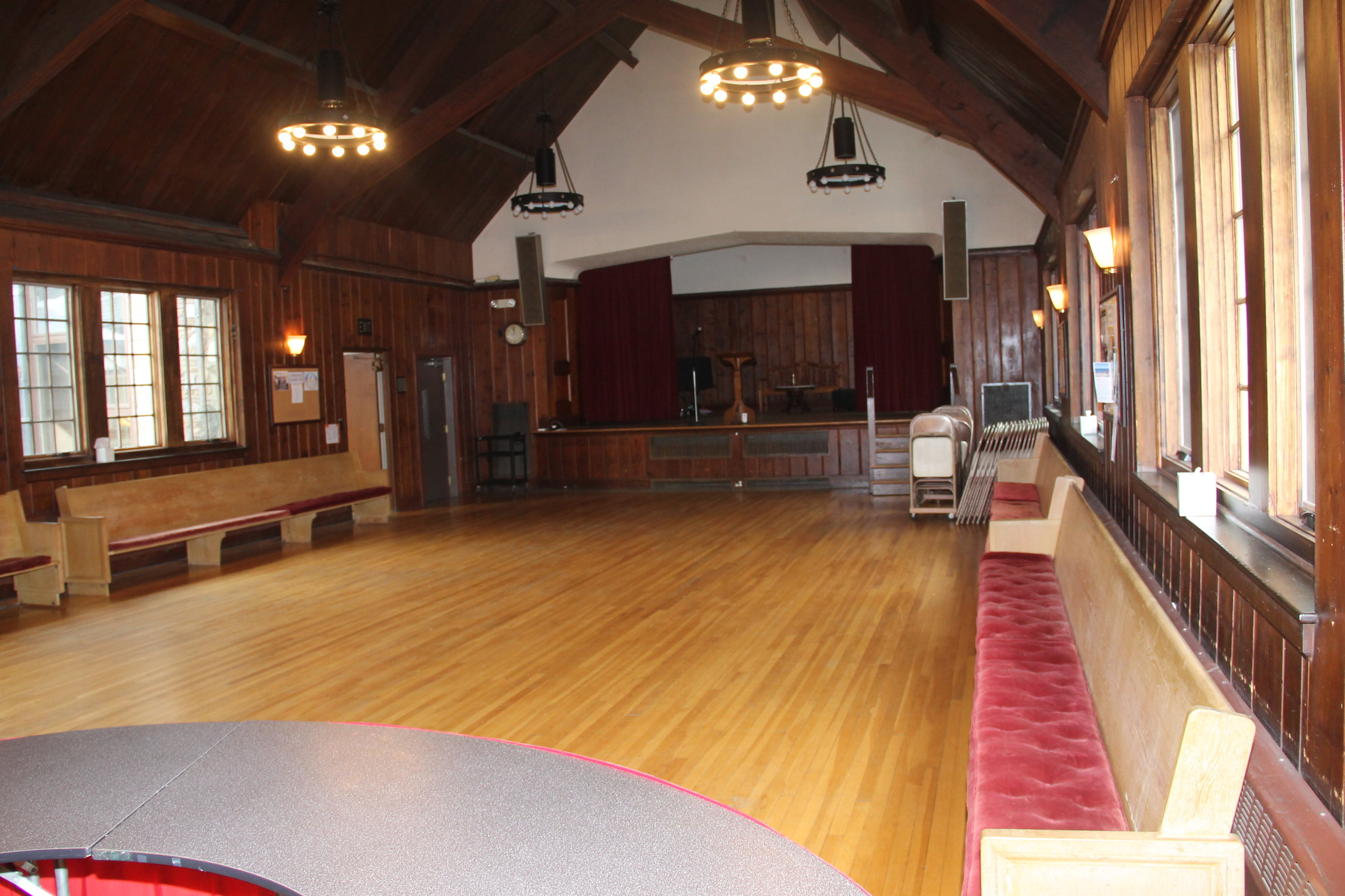 parish hall capacity: 100 $200/ 4 hours, $400/ 8 hours fOR non-members $100/ 4 hours, $200/ 8 hours fOR MEMBERS