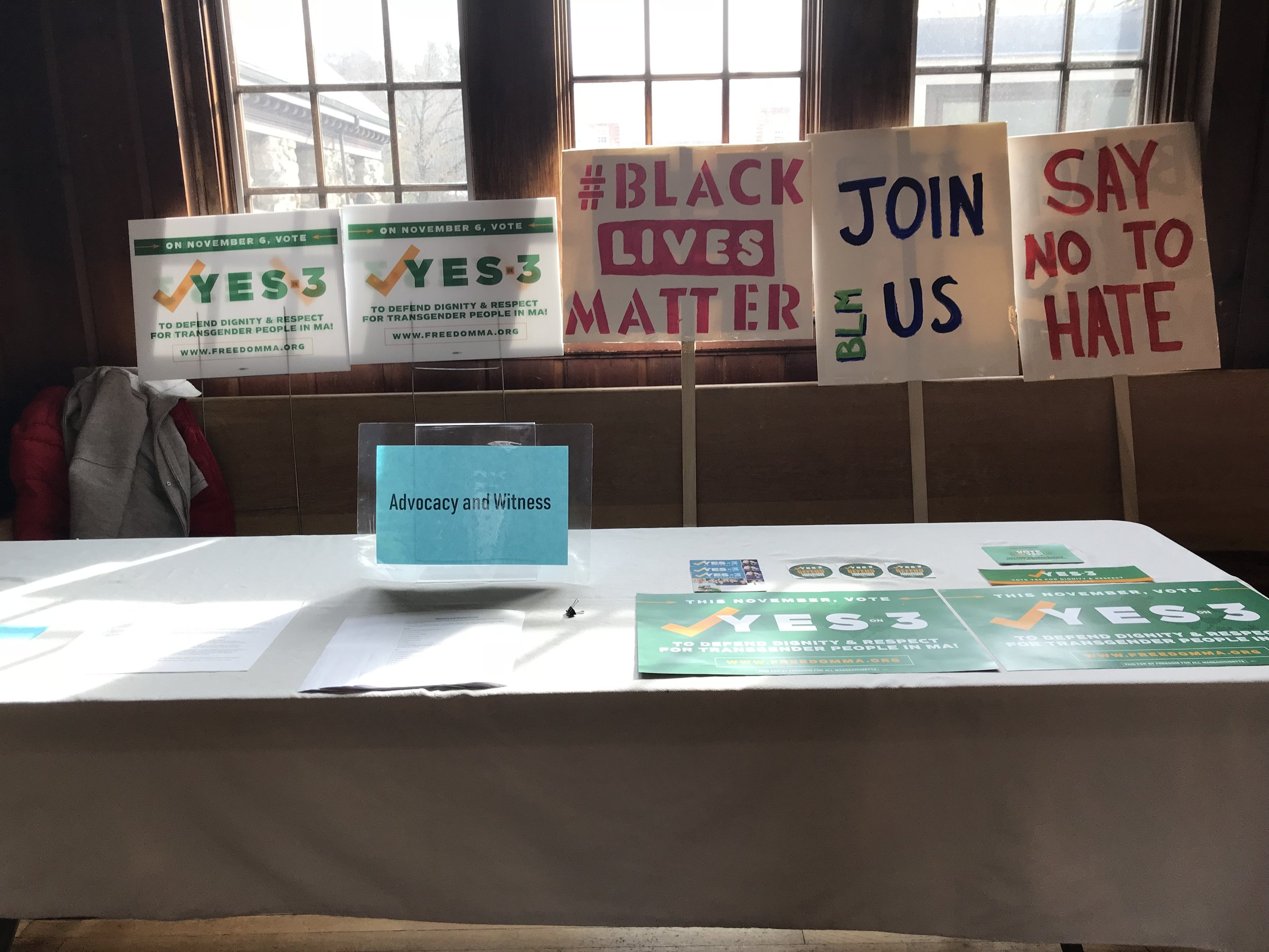 Advocacy & Witness Interest Group
