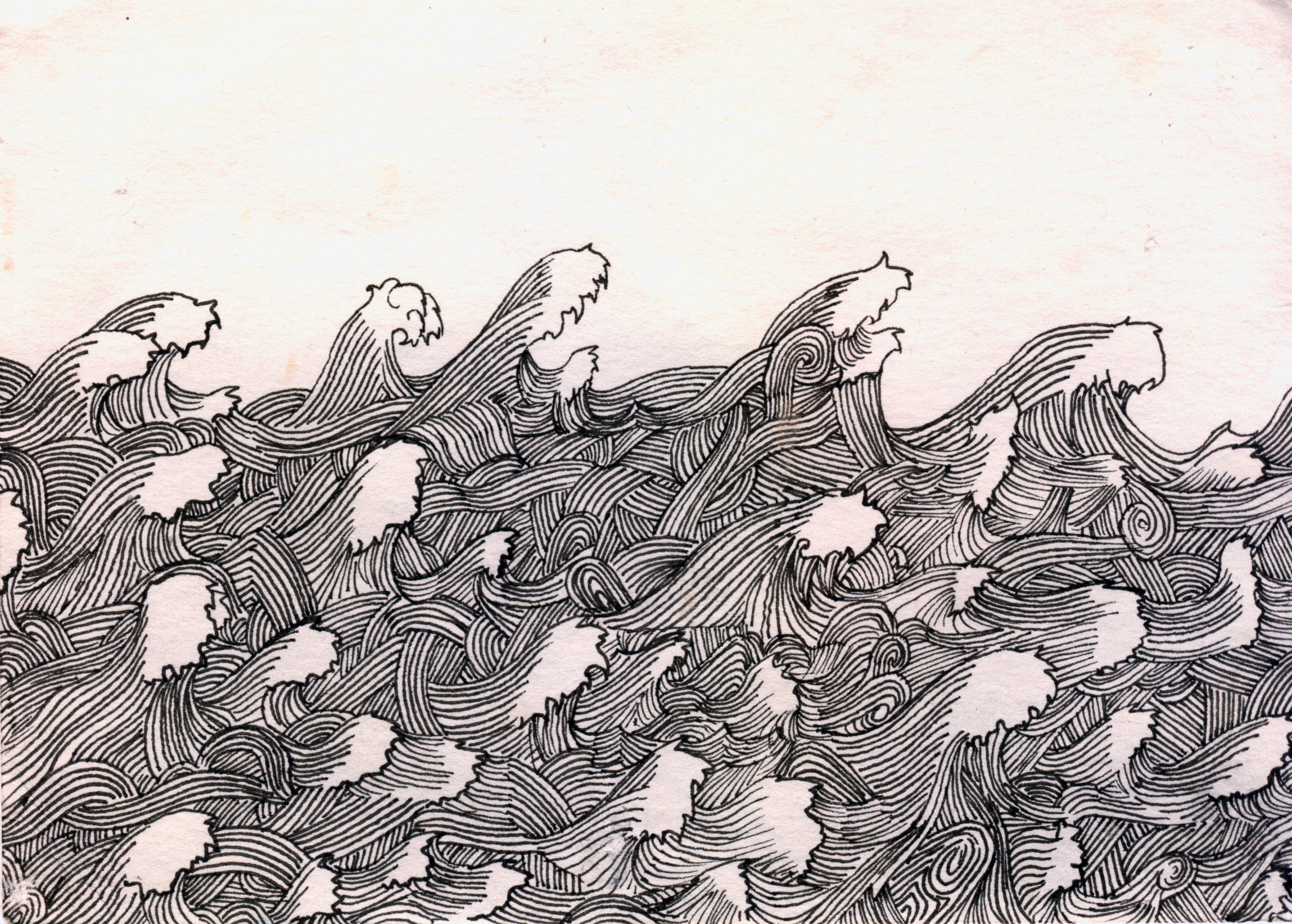 Black Fine Liner on Acid Free Paper - 2005