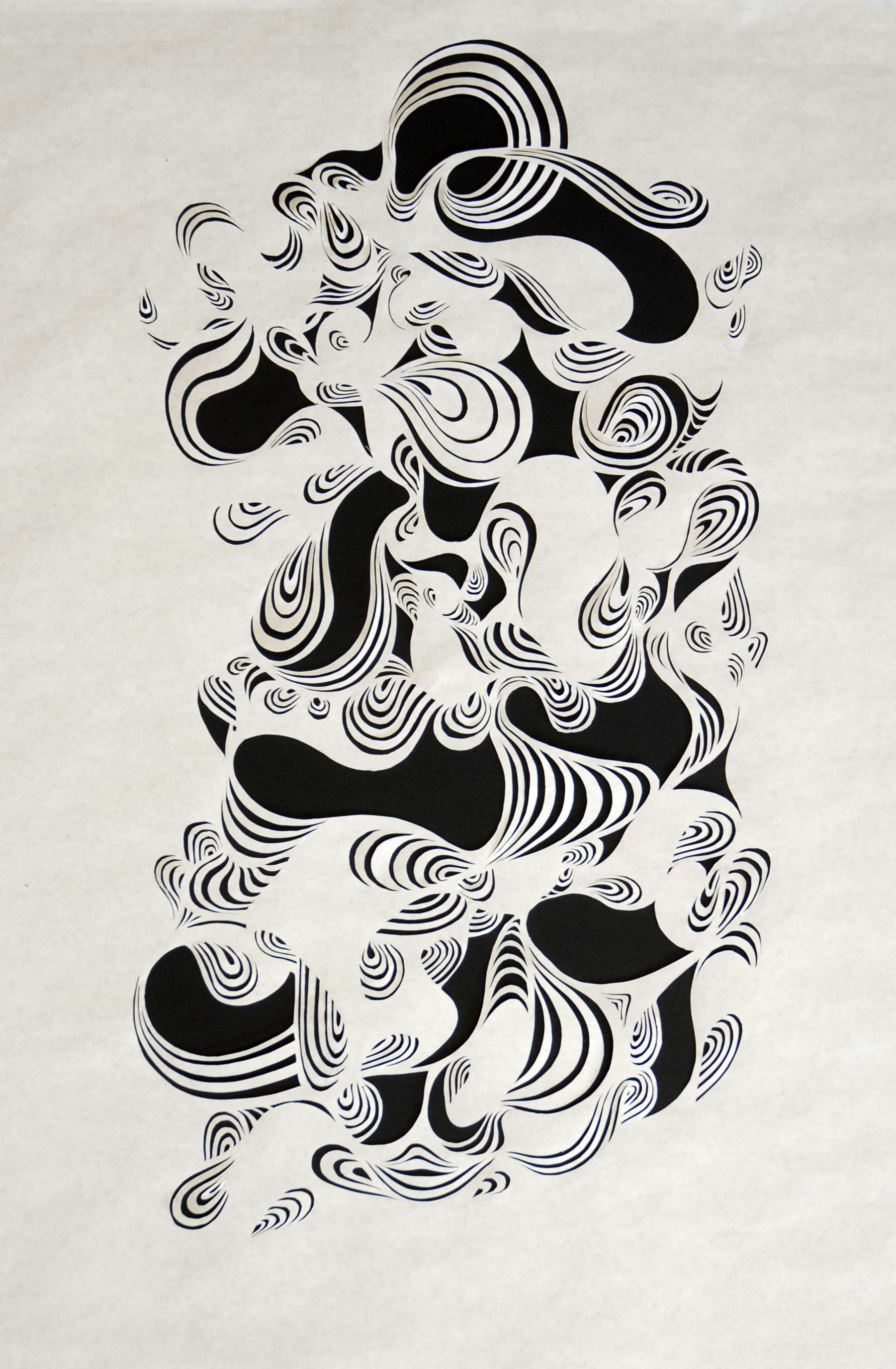 Hand cut 60gsm layout paper -2010