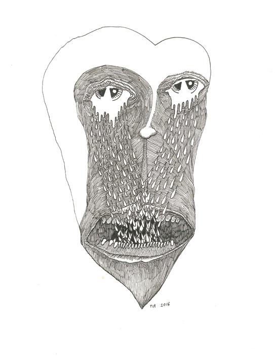 Heart Shaped Face.