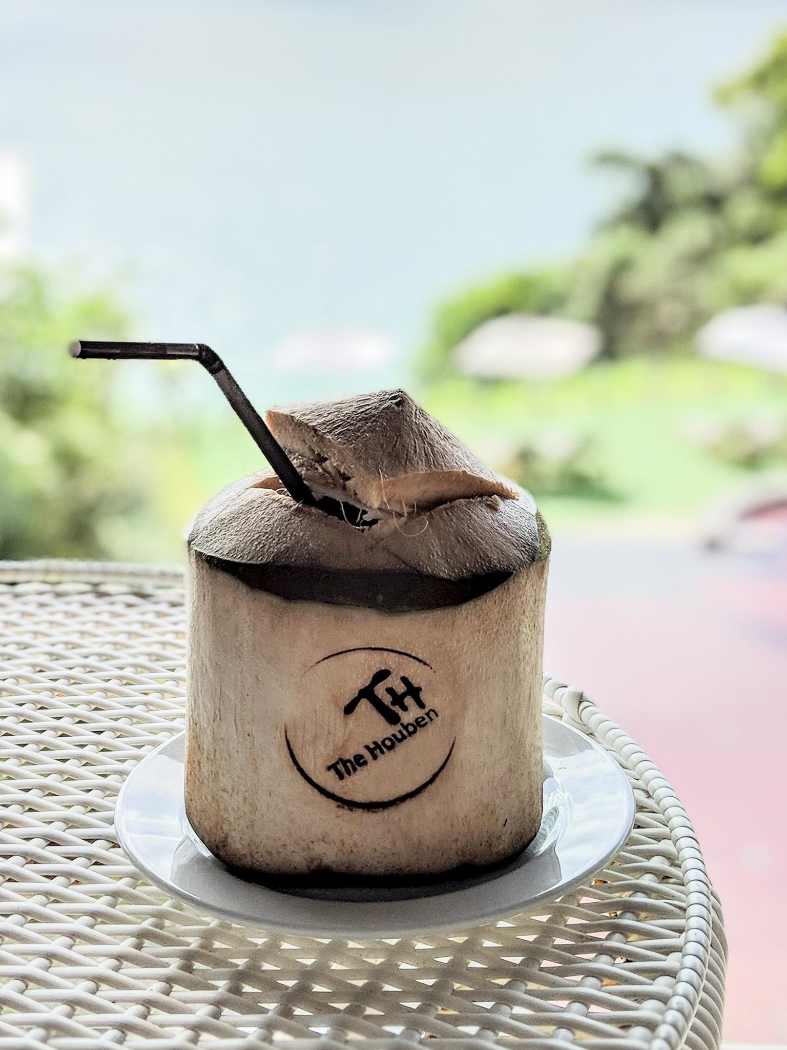 delicious fresh coconut