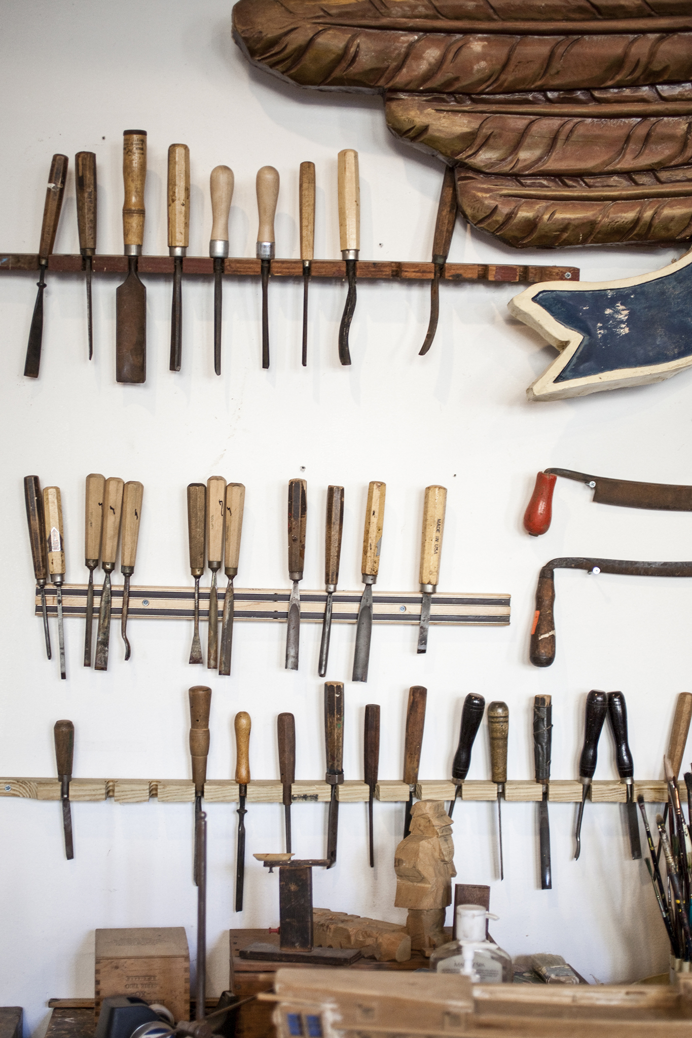 South Street Seaport Artisan's Row: Bowne Stationers & Seaport Woodcarvers