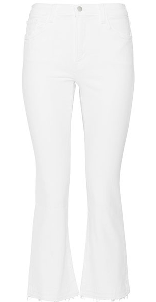 Selena Cropped Mid-Rise Jeans<br><strong>J Brand</strong>
