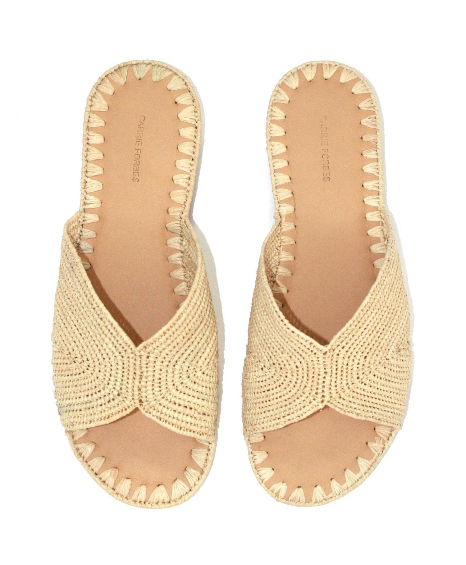 Salon Slide Sandal<br><strong>Carrie Forbes</strong>