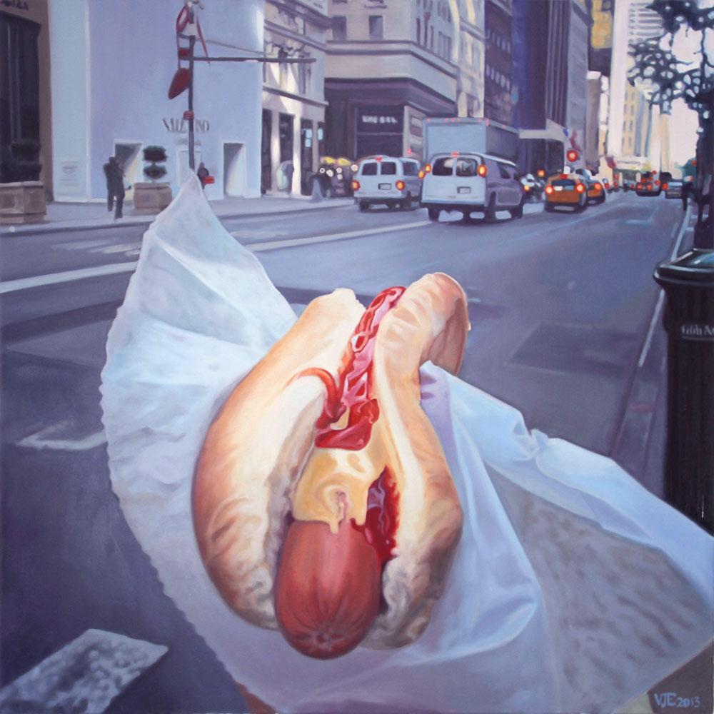 Hotdog in #NYC