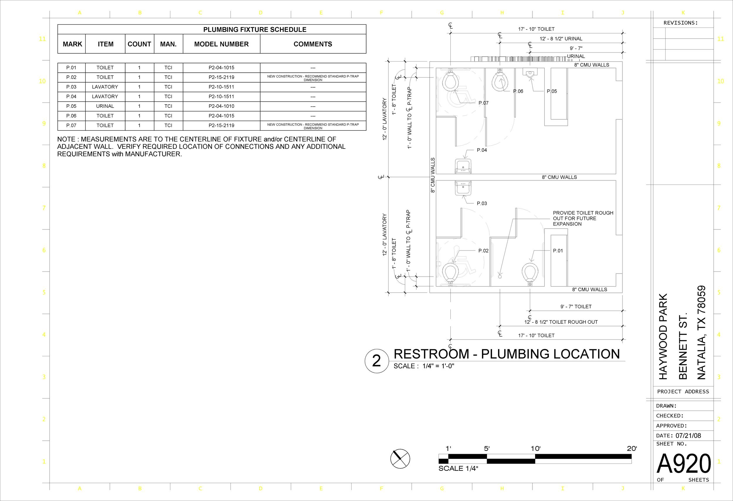 CITY PARK - Sheet - A920 - (OUR) FOUNDATION PLANS.jpg