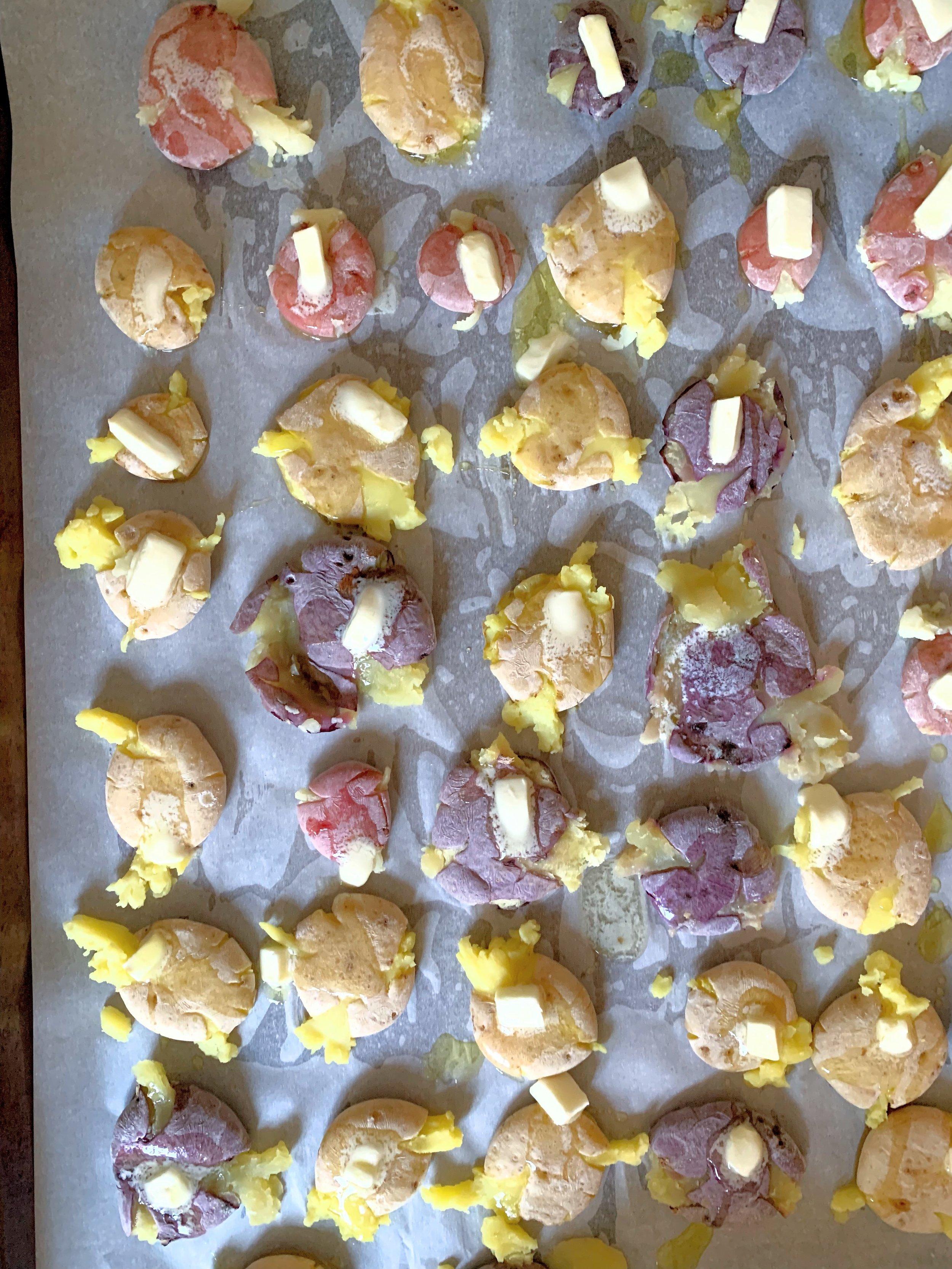 Salt & Vinegar Smashed potatoes with butter .jpg