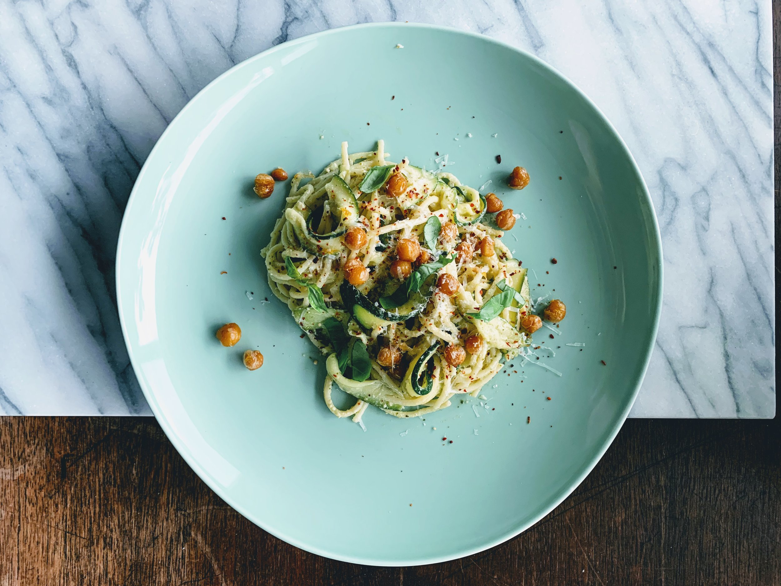Spaghetti with Zucchini and Tahini Basil Pesto.jpg