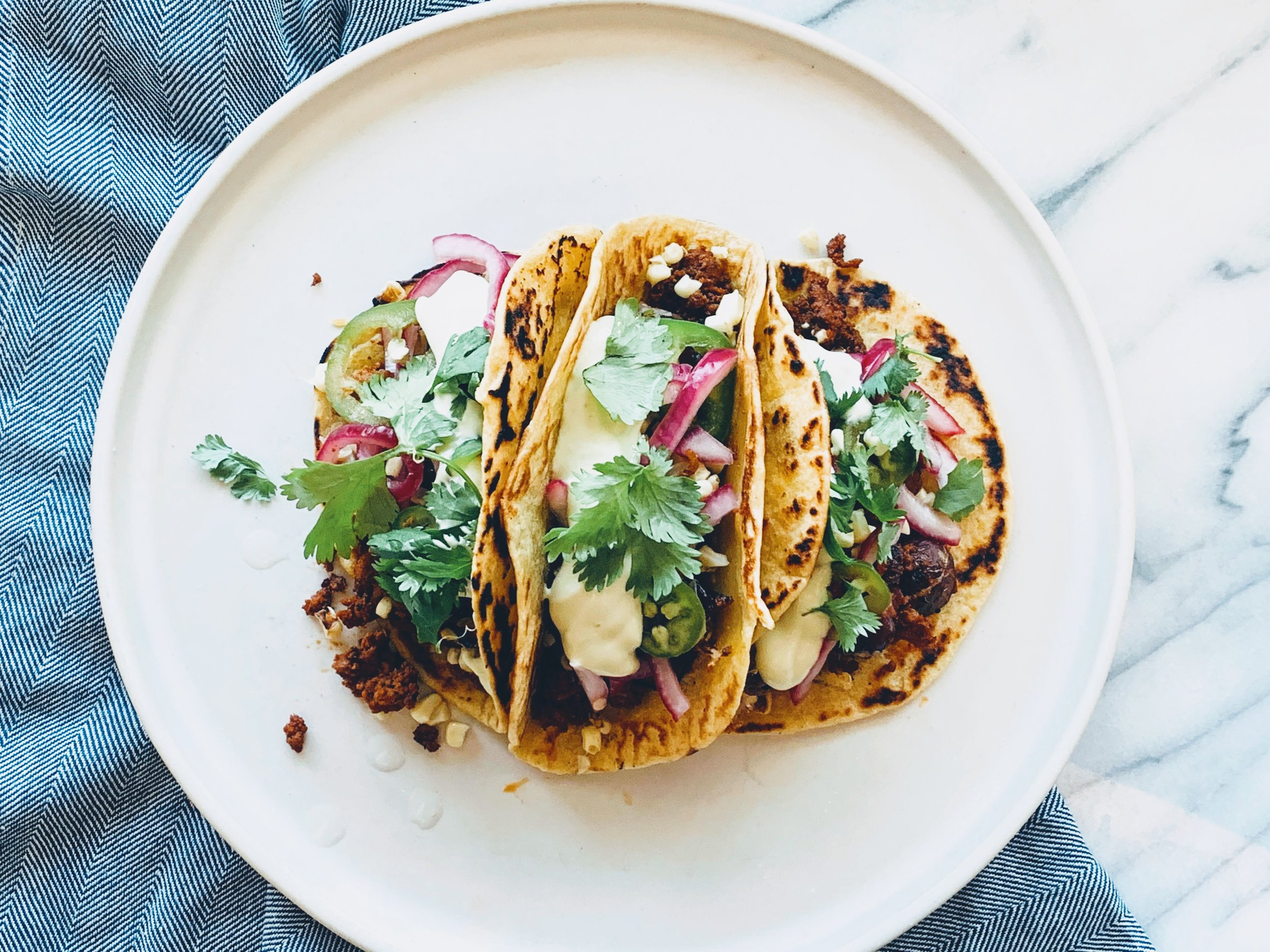Potato and Chorizo Tacos with Avocado Crema.jpg