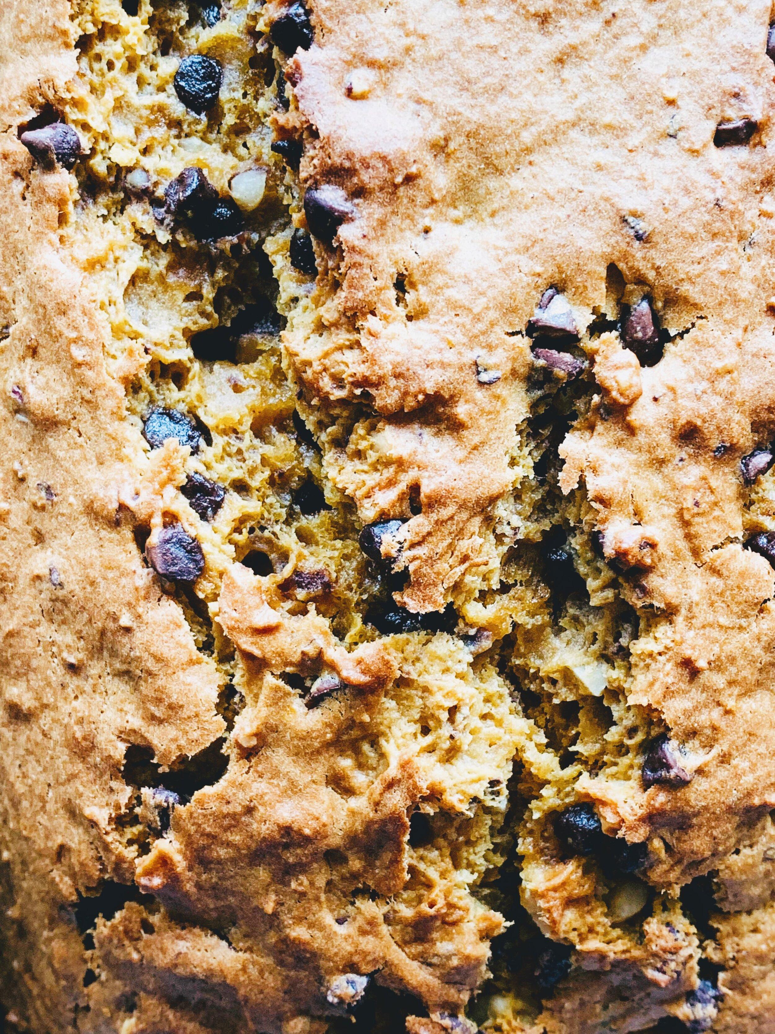 Gram's Souped-Up Pumpkin Bread-close up.jpg