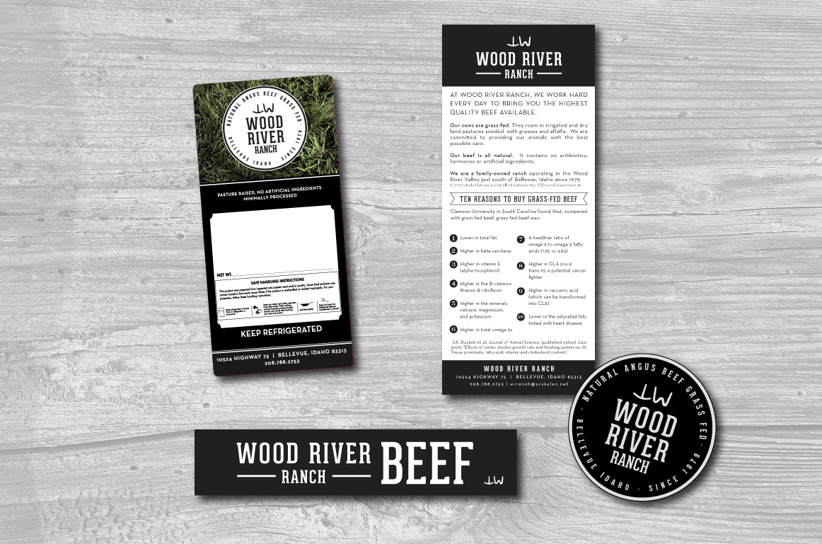 CLIENT: Wood River Ranch  PROJECT: Branding & Packaging