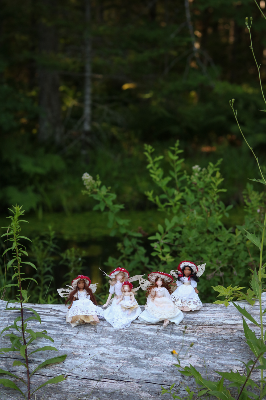 Toadstool Faeries by Lavender & Lark