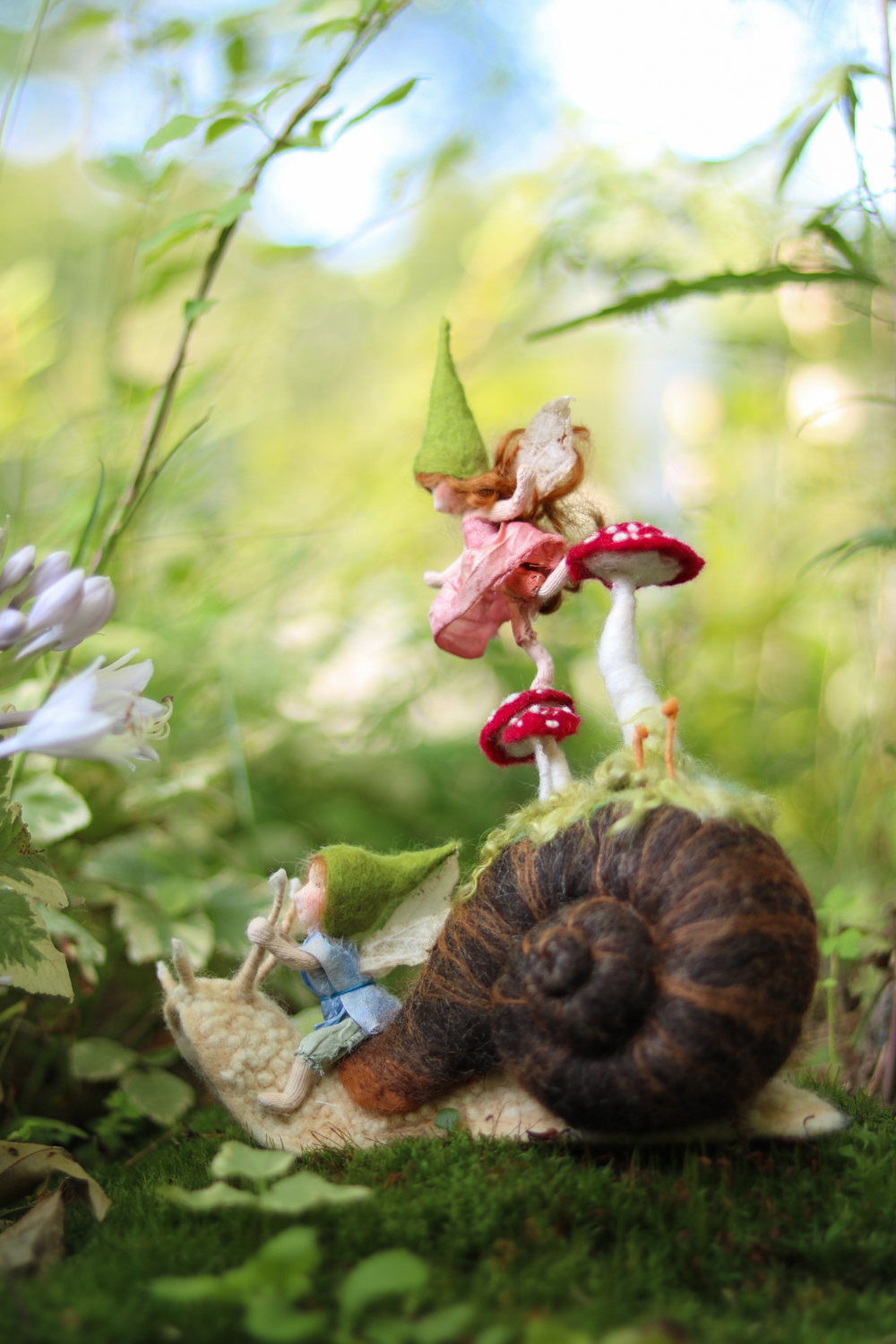 No child but must remember laying his head in the grass, staring into the infinitesimal forest and seeing it grow populous with fairy armies.  ~Robert Louis Stevenson