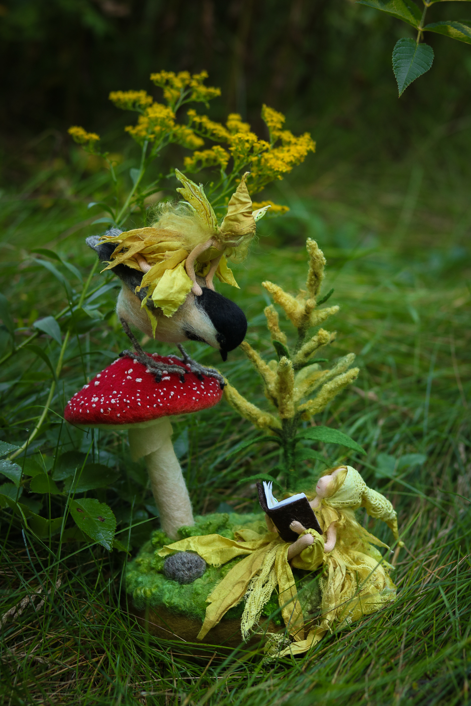 The goldenrod faeries by Lavender & Lark