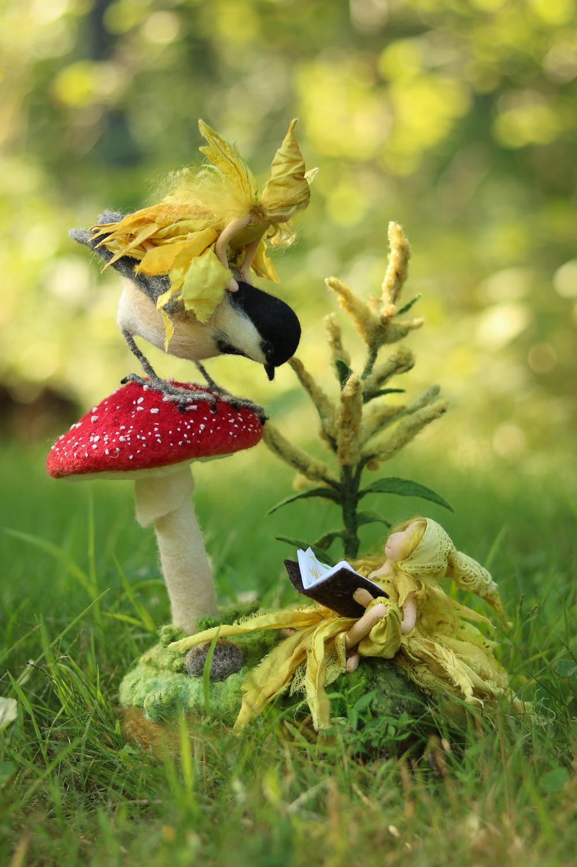 Goldenrod faeries by Lavender & Lark