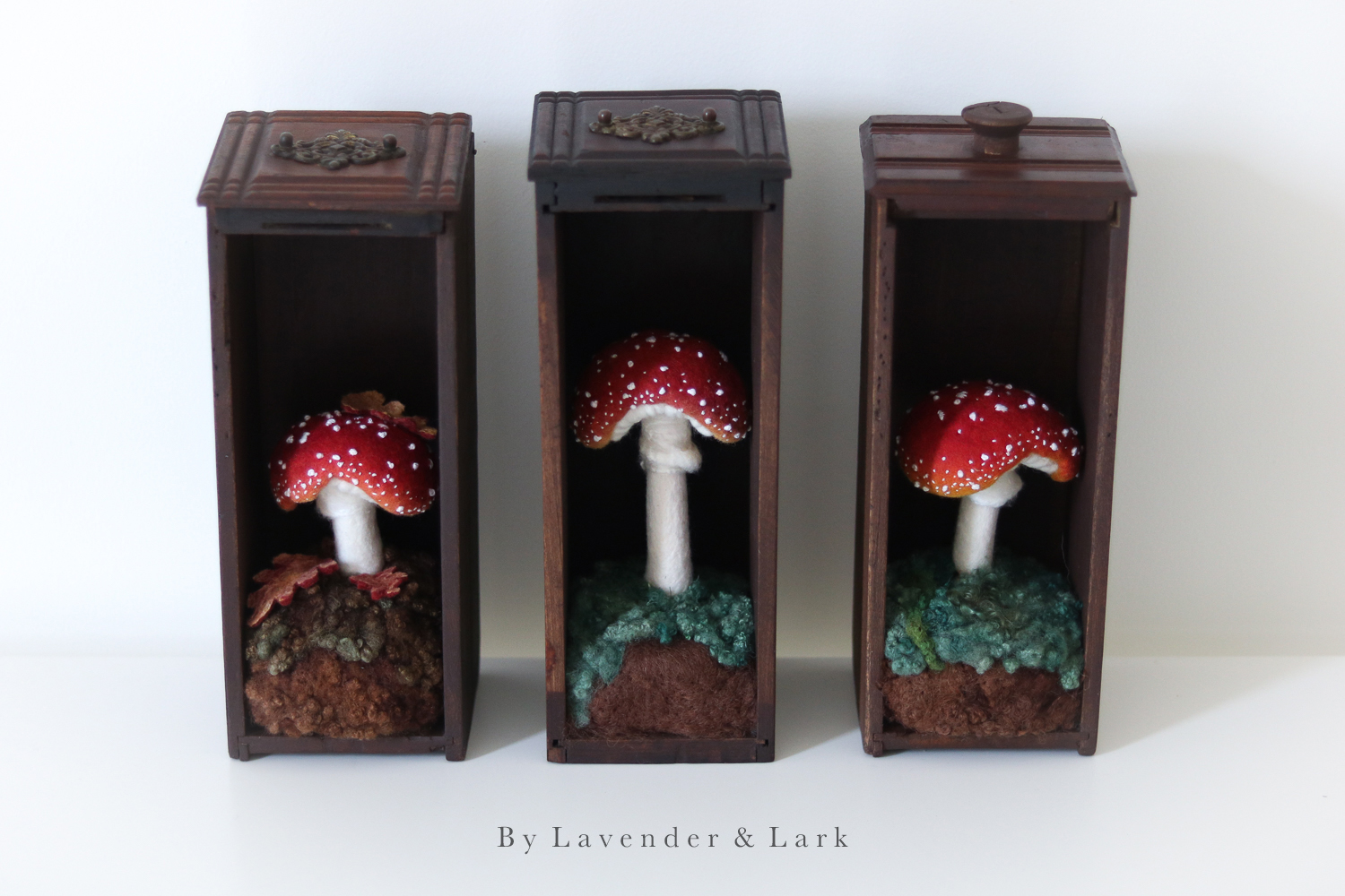 Toadstool Drawers by Lavender & Lark